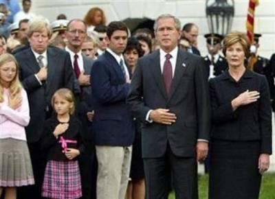 George Bush a un grandcoeur
