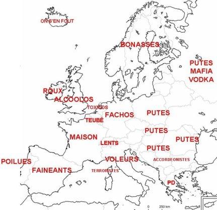 L'Europe vue par lesFrançais